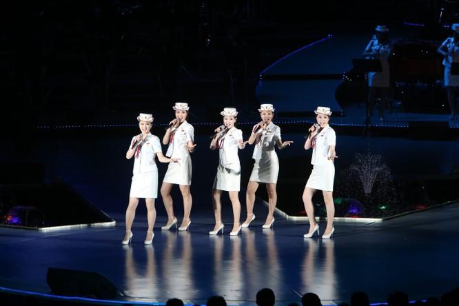 Điều gì khiến ban nhạc nữ nổi tiếng Triều Tiên Moranbong lần thứ hai bất ngờ hủy bỏ kế hoạch biểu diễn ở Trung Quốc? ảnh 1