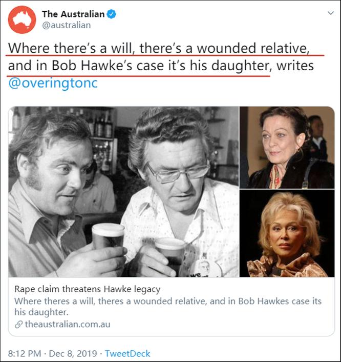 Chuyện động trời: Con gái cựu Thủ tướng Australia bị cưỡng bức nhưng bị cha ép phải im lặng vì sợ ảnh hưởng sự nghiệp chính trị ảnh 2