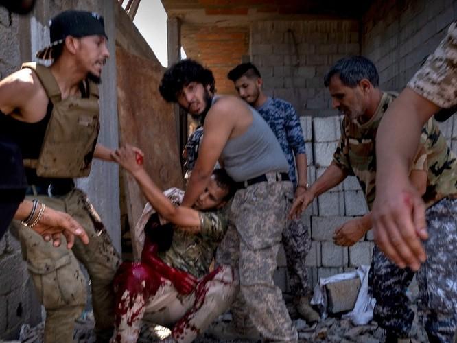 Cuộc nội chiến Lybia lần 2 đã trở thành nơi can dự của các quốc gia trên thế giới ảnh 1