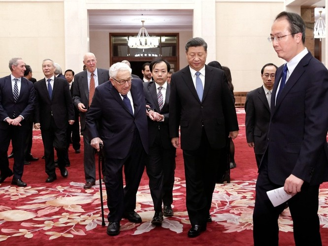 Cựu Ngoại trưởng Mỹ Henry Kissinger tiết lộ thông điệp bí mật mà Chủ tịch Trung Quốc nhắn gửi tới Tổng thống Donald Trump ảnh 1