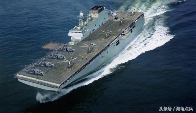 Trung Quốc năm 2019 hạ thủy 24 tàu chiến mặt nước có tổng lượng giãn nước 200 ngàn tấn ảnh 1
