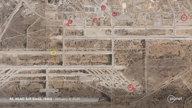Tên lửa Iran đã đánh chính xác căn cứ không quân Assad như thế nào? Liệu có phải Iran cố tình tránh gây thương vong cho quân Mỹ? ảnh 2
