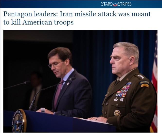 Tên lửa Iran đã đánh chính xác căn cứ không quân Assad như thế nào? Liệu có phải Iran cố tình tránh gây thương vong cho quân Mỹ? ảnh 8