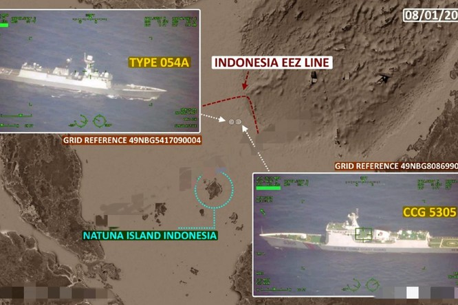 Đối đầu Trung Quốc – Indonesia trên vùng biển Natuna: Trung Quốc đã triển khai tàu hộ vệ mạnh nhất ảnh 2