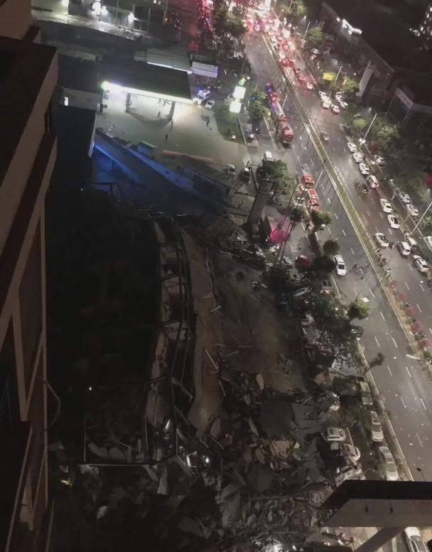 Sập khách sạn dùng làm nơi cách ly người nghi nhiễm COVID-19 ở Phúc Kiến, khoảng 70 người bị chôn vùi ảnh 3