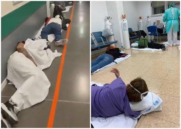 Cập nhật nhanh tình hình lúc 22h00 ngày 24/3: Châu Âu có hơn 200 ngàn ca nhiễm; Tây Ban Nha bệnh viện quá tải, người bệnh phải nằm đất chờ giường bệnh! ảnh 1