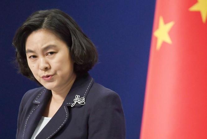 """""""Tàu cá Việt Nam đâm vào mũi tàu Hải cảnh Trung Quốc rồi bị chìm"""" – luận điệu phi lý của người phát ngôn Bộ Ngoại giao Trung Quốc! ảnh 2"""
