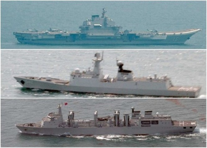 Giữa lúc đại dịch, Trung Quốc điều tàu Liêu Ninh tới Biển Đông; Mỹ, Nhật phản ứng ảnh 2
