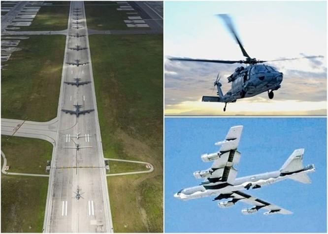 Đáp lại hành động của Trung Quốc ở biển Đông, Không quân Mỹ phô diễn sức mạnh ảnh 1
