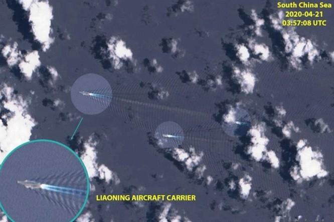 Mỹ và Trung Quốc huy động nhiều tàu chiến, tình hình Biển Đông nóng lên ảnh 1