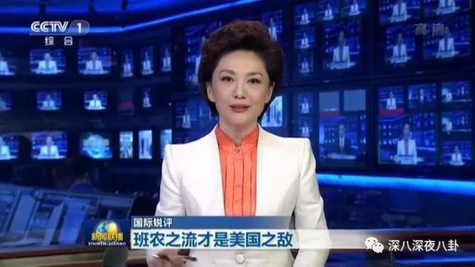 Vì sao Đài Truyền hình Trung Quốc (CCTV) giận dữ chửi mắng ông Steve Bannon? ảnh 1