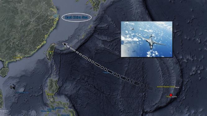 Đằng sau việc máy bay Mỹ liên tục xuất hiện xung quanh Đài Loan và bố trí lại không quân chiến lược ảnh 1