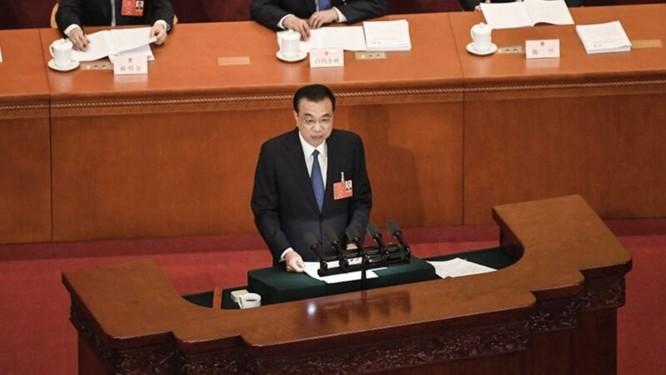 Điều bất thường trong báo cáo của Thủ tướng Trung Quốc Lý Khắc Cường trước Quốc hội ảnh 1