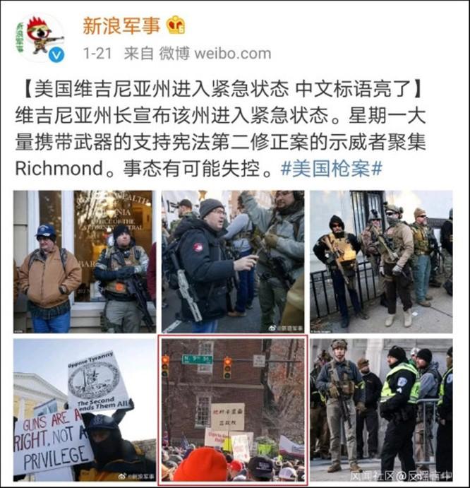 Tin giả về tình hình biểu tình ở Mỹ tràn lan trên mạng Trung Quốc ảnh 6