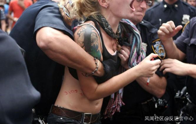 Tin giả về tình hình biểu tình ở Mỹ tràn lan trên mạng Trung Quốc ảnh 2