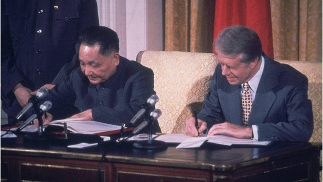 Pháo chiến Kim Môn: Mỹ và Trung Quốc lập quan hệ ngoại giao, đấu pháo chấm dứt (kỳ cuối) ảnh 6