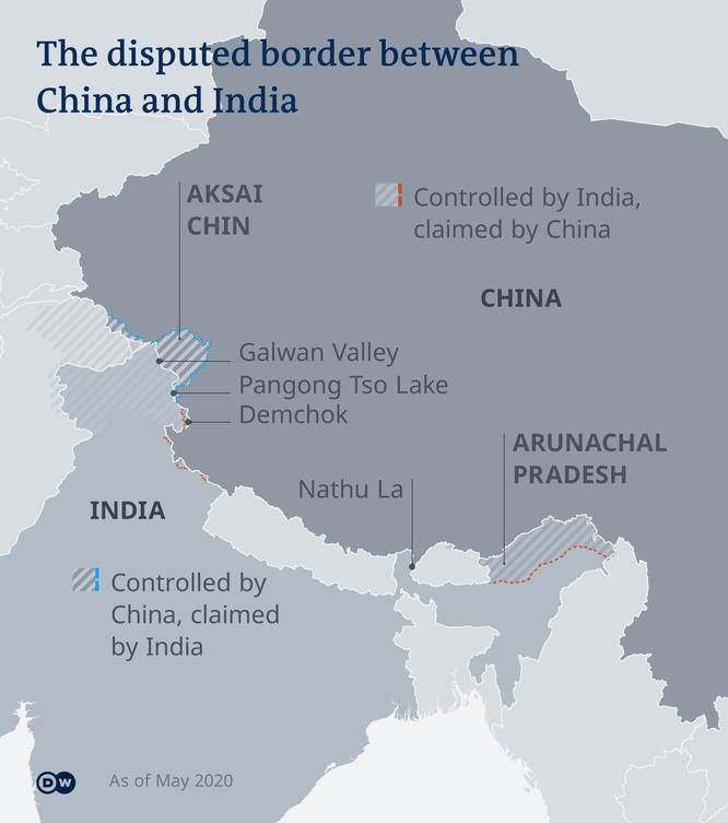 Truyền thông Ấn Độ: Quân đội Trung - Ấn đã khẩn cấp tăng viện ở cả ba tuyến tranh chấp ảnh 1