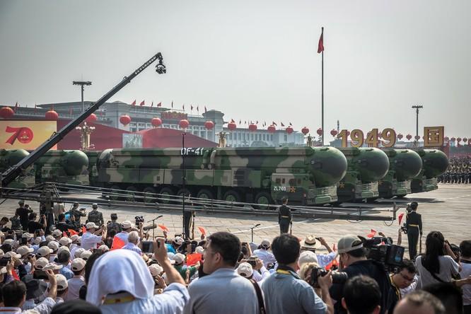Vũ khí hạt nhân - Lĩnh vực cạnh tranh mới của Mỹ và Trung Quốc ảnh 1