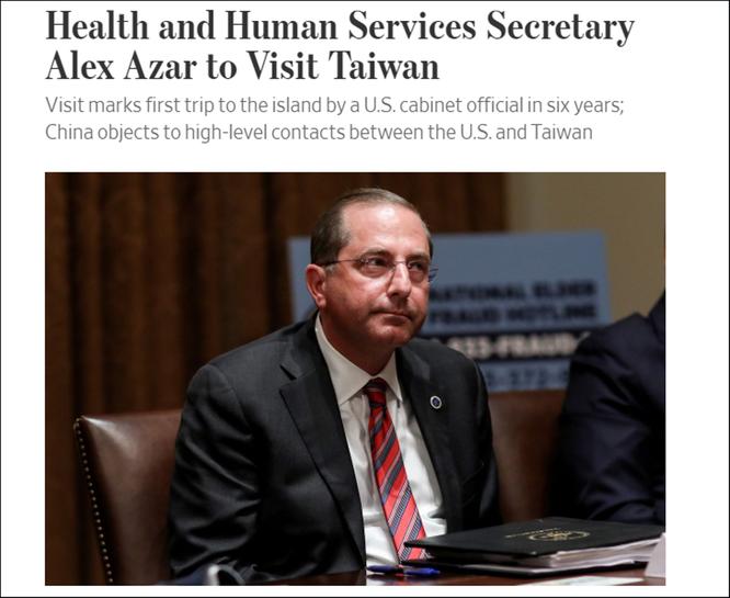 Bộ trưởng Y tế Mỹ chuẩn bị thăm chính thức Đài Loan, Trung Quốc phản ứng quyết liệt ảnh 3