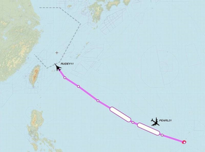 Giữa lúc Trung Quốc tập trận đe dọa Đài Loan, B-1B Mỹ áp sát ADIZ Trung Quốc ảnh 1