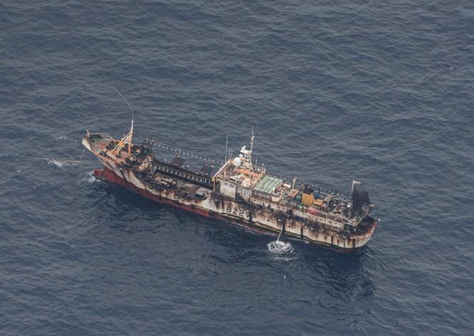 Hàng trăm tàu đánh cá đại dương Trung Quốc ồ ạt tới đánh bắt gần vùng đặc quyền kinh tế Ecuador ảnh 2