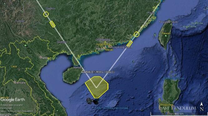 """Trung Quốc bất ngờ phóng thử tên lửa """"sát thủ tàu sân bay"""" ra vùng biển phía bắc Hoàng Sa ảnh 1"""