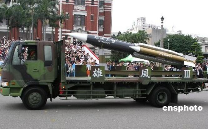 Đài Loan phát triển tên lửa gì để đối phó với Trung Quốc? ảnh 3