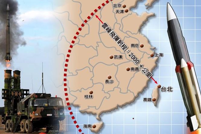 Đài Loan phát triển tên lửa gì để đối phó với Trung Quốc? ảnh 4