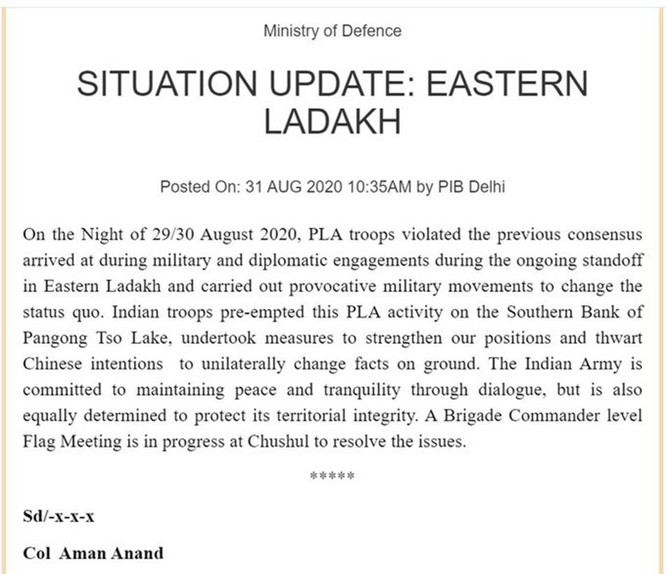 Biên giới Trung - Ấn lại nóng, quân đội hai bên liên tục xung đột ảnh 1