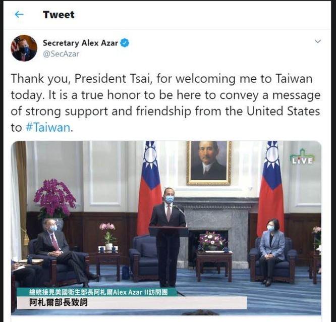 """Mỹ có sự điều chỉnh lớn về chính sách """"một Trung Quốc"""", tăng cường quan hệ với Đài Loan ảnh 1"""