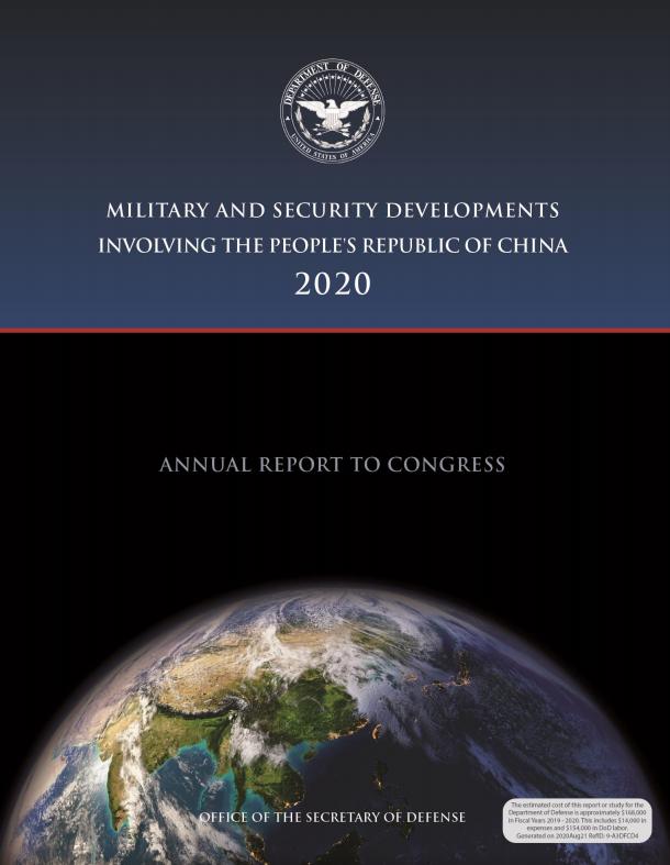 Lầu Năm Góc công bố Báo cáo quân lực Trung Quốc 2020, cảnh báo về nguy cơ từ Bắc Kinh ảnh 2
