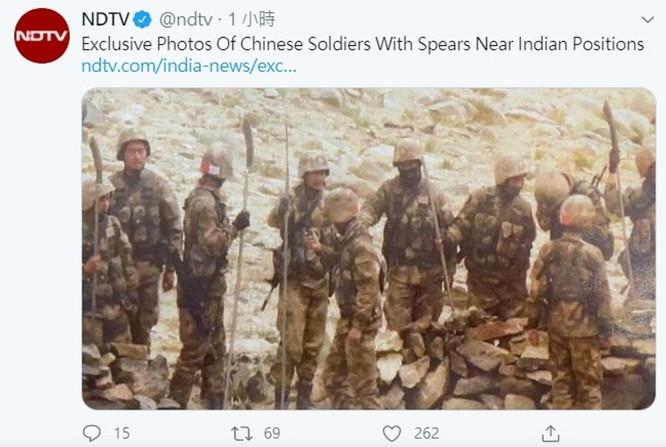 Ấn Độ đưa ảnh lính Trung Quốc sử dụng vũ khí thời trung cổ; học giả Trung Quốc hô hào chiến tranh ảnh 1