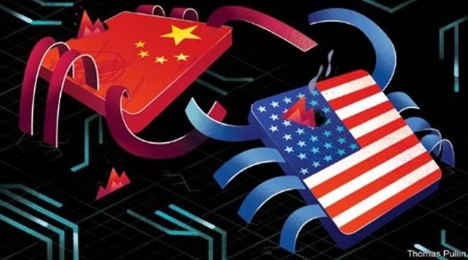 Cuộc chiến quyết liệt Mỹ - Trung xung quanh chip bán dẫn ảnh 1
