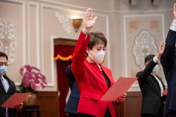 """Sóng gió quanh việc bà Tiêu Mỹ Cầm tự xưng """"Đại sứ Đài Loan tại Mỹ"""" ảnh 2"""