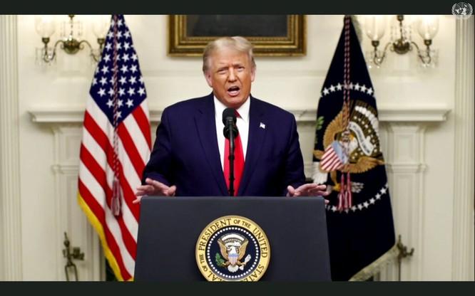 Trước Liên Hợp Quốc, ông Trump 12 lần phê phán đích danh Trung Quốc, ông Tập ngầm chỉ trích Mỹ ảnh 2