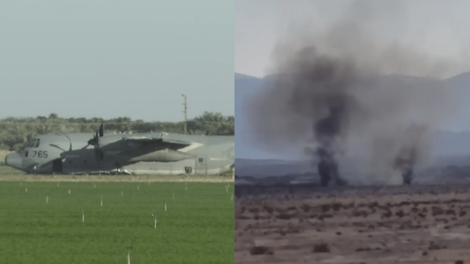 Va chạm kinh hoàng trên không, tiêm kích tàng hình tối tân F-35B Mỹ bị rơi ảnh 1