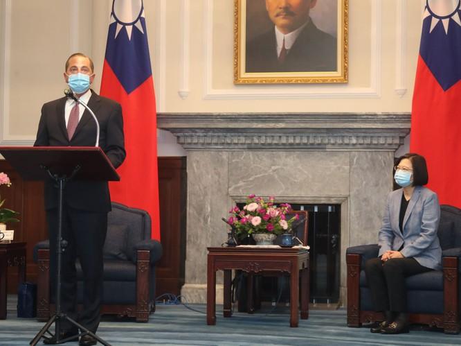 50 thượng nghị sĩ Mỹ đề nghị khởi động cuộc đàm phán thương mại Mỹ - Đài Loan ảnh 1