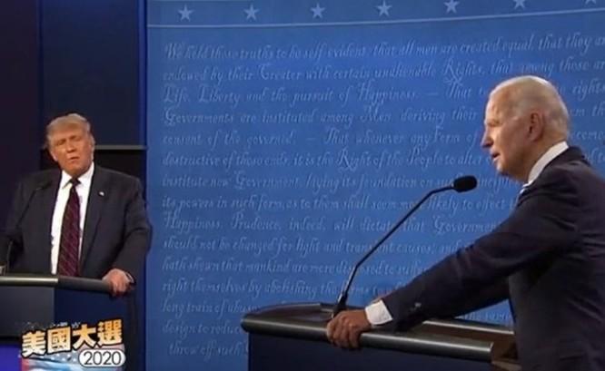 Bầu cử Mỹ: Ông Donald Trump vọt lên dẫn điểm trước Joe Biden! ảnh 1