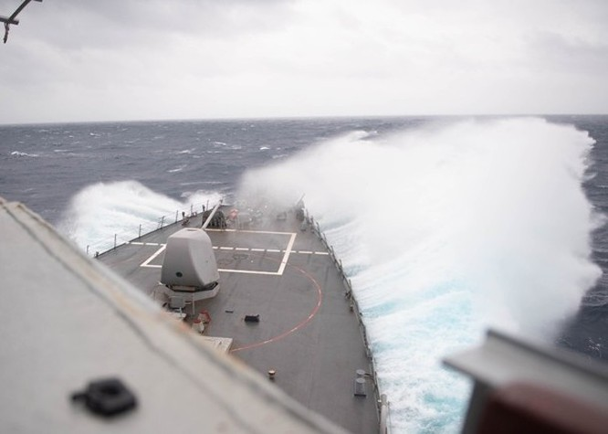 Tàu chiến đi dọc eo biển Đài Loan, Hải quân Mỹ gọi Trung Quốc là mối đe dọa chiến lược số 1 ảnh 1