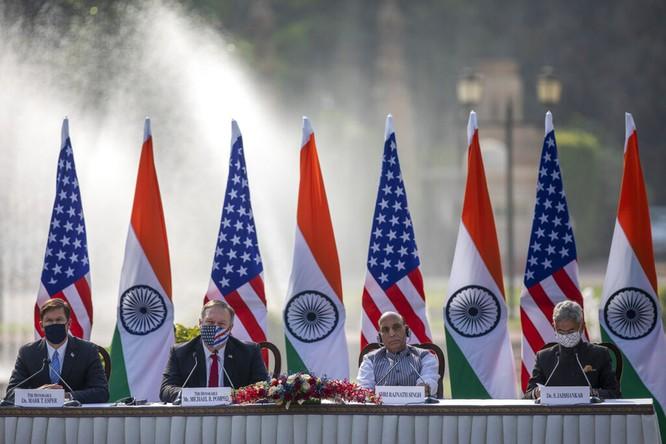 Giới truyền thông quốc tế: Ấn Độ và Mỹ tăng cường hợp tác chống Trung Quốc ảnh 1