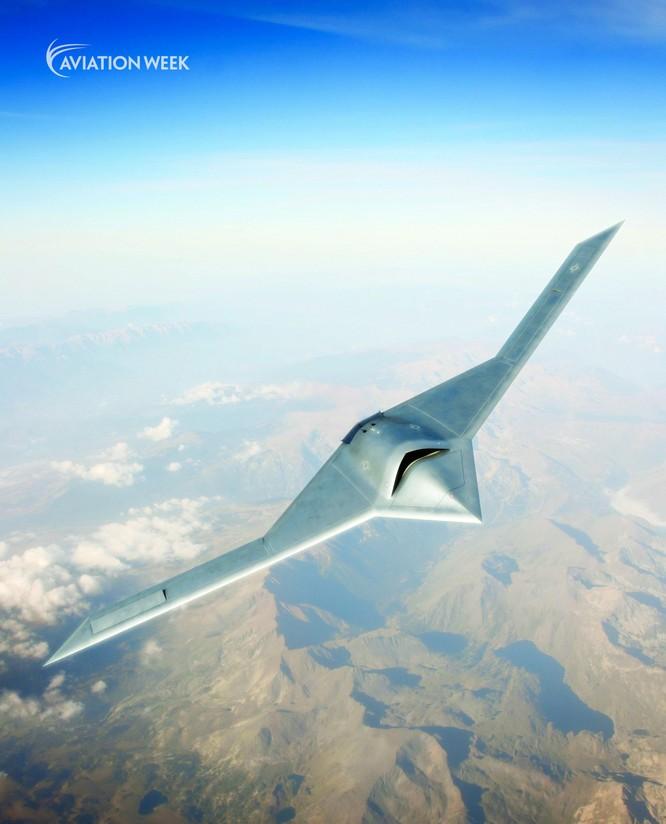 Máy bay không người lái trinh sát tầm cao tàng hình tuyệt mật RQ-180 của Mỹ bị lộ diện ảnh 2