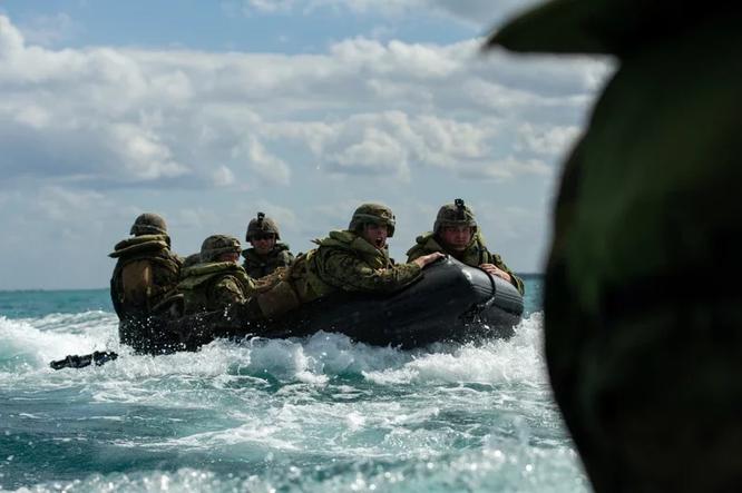 Báo Đài Loan lộ tin Lực lượng Lính thủy đánh bộ Mỹ tới Đài Loan giúp huấn luyện quân đội ảnh 1