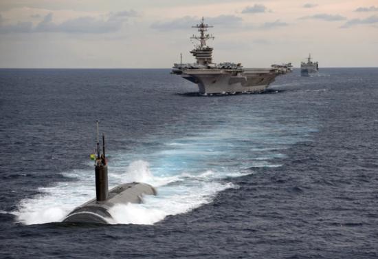 Báo Philippines nghi tàu ngầm Trung Quốc gây ô nhiễm phóng xạ Biển Đông, báo Bắc Kinh đổ lỗi cho Mỹ ảnh 1