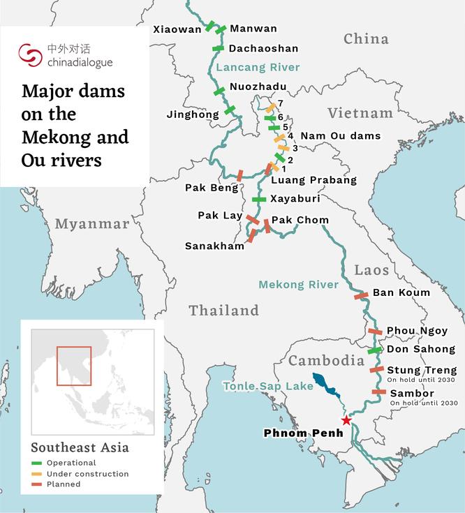 Mỹ đưa Dự án giám sát đập thủy điện trên sông Mekong vào hoạt động, Trung Quốc tức giận ảnh 1