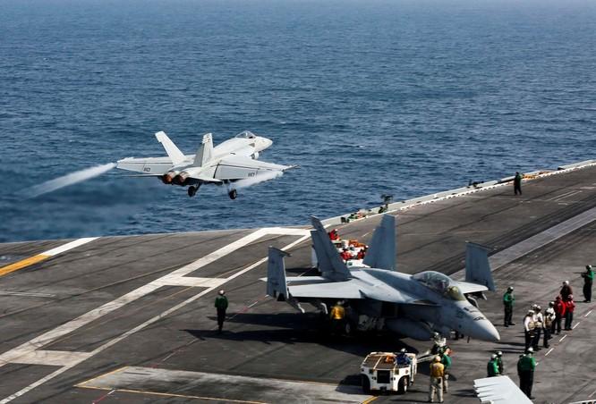 Ngay sau khi ông Biden nhậm chức, Mỹ đưa cụm tác chiến tàu sân bay tới Biển Đông đối phó Trung Quốc ảnh 1