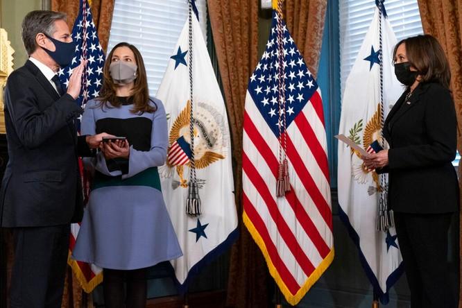 Ngoại trưởng Blinken cho thấy Mỹ tiếp tục chính sách cứng rắn với Trung Quốc ảnh 2