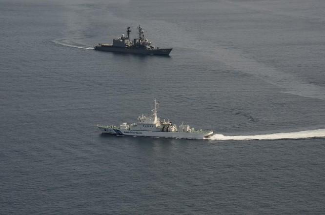 Giữa lúc tranh chấp đảo Trung – Nhật nóng lên, Hải quân Mỹ-Nhật tập trận chung nhằm vào Trung Quốc ảnh 4