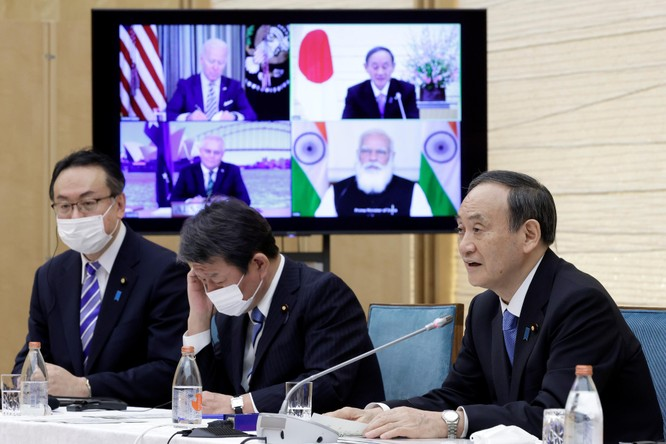 """Nguyên thủ các quốc gia """"Bộ tứ Kim cương"""": Không ảo tưởng về Trung Quốc ảnh 3"""