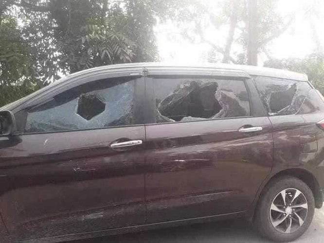 Nóng: hơn 20 nhà máy, công ty Trung Quốc ở Myanmar bị tấn công, đốt phá ảnh 2