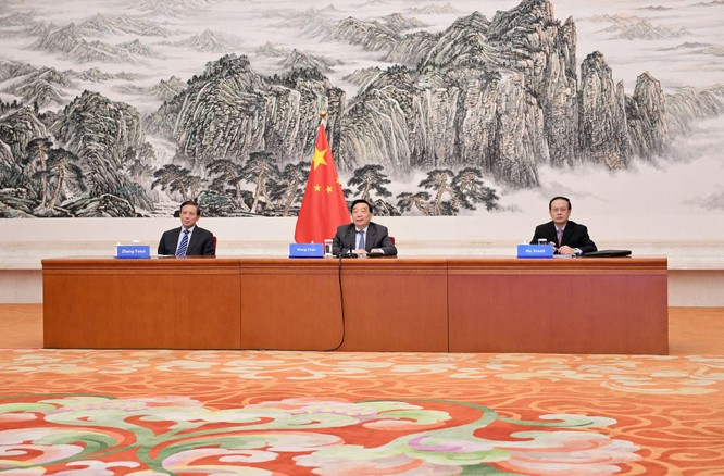 Trước cuộc gặp gỡ Alaska, Mỹ bất ngờ tung đòn trừng phạt 14 Phó Chủ tịch Quốc hội Trung Quốc ảnh 3